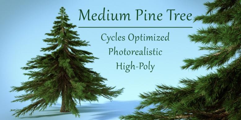 Realistic Medium Pine